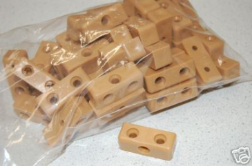 Plastic Jointing Blocks (Pack Of 50) - Beige